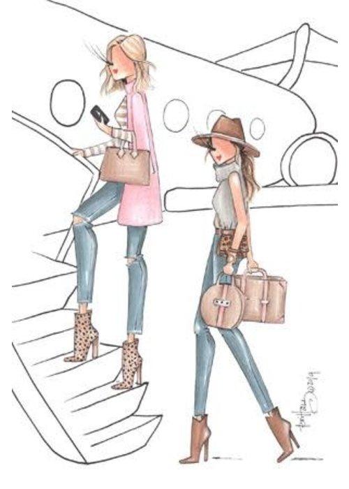 """Brittany Fuson """"Aspen"""" Brittany Fuson™ Luggage Tag"""