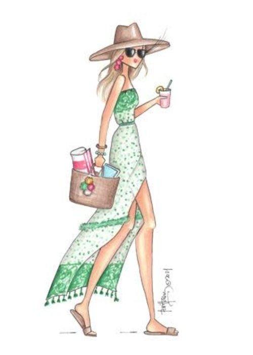 """Brittany Fuson """"Lemonade"""" Brittany Fuson™ Luggage Tag"""
