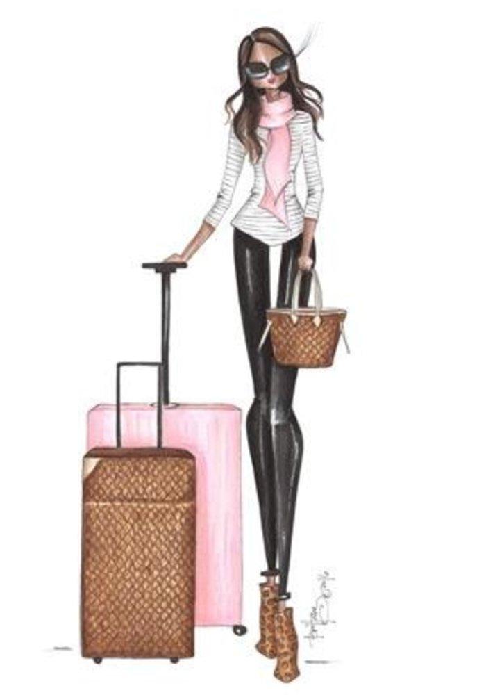 """""""Malika"""" Brittany Fuson™ Luggage Tag"""
