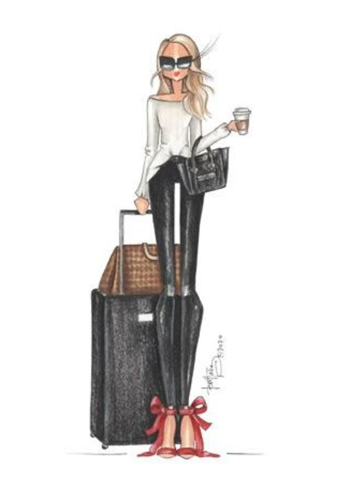 """Brittany Fuson """"Travelista"""" Brittany Fuson™ Luggage Tag"""