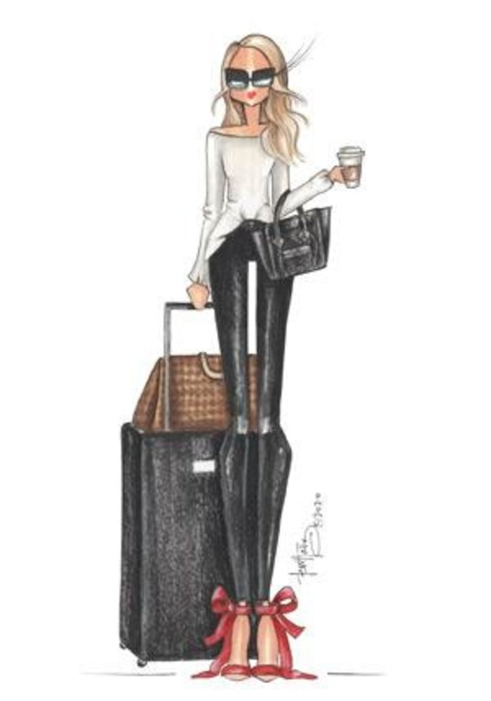 """""""Travelista"""" Brittany Fuson™ Luggage Tag"""