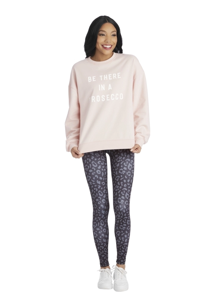 """""""Be There in a Prosecco"""" Graphic Sweatshirt"""