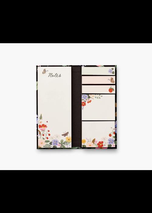 "Rifle Paper ""Strawberry Fields"" Assorted Sticky Note Folio"