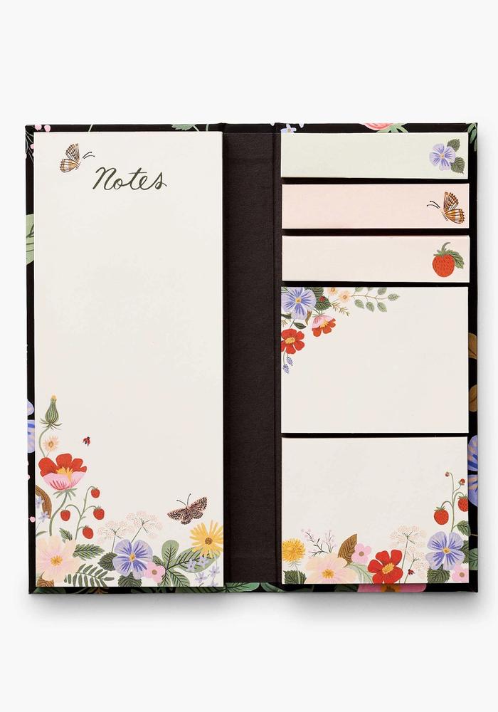 """""""Strawberry Fields"""" Assorted Sticky Note Folio"""