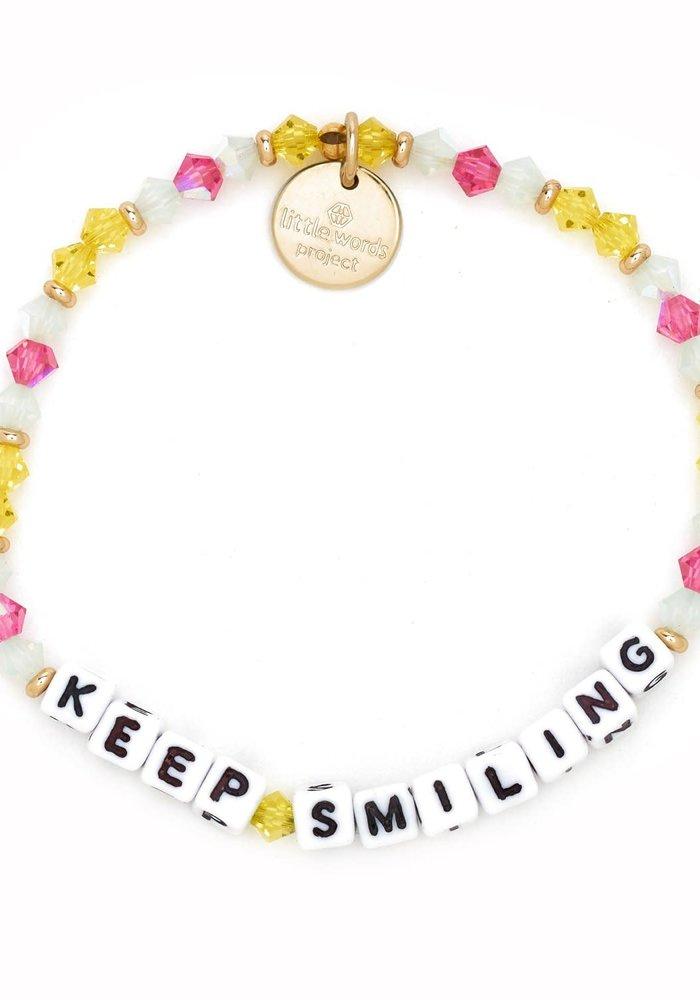 """""""Keep Smiling"""" Bracelet"""