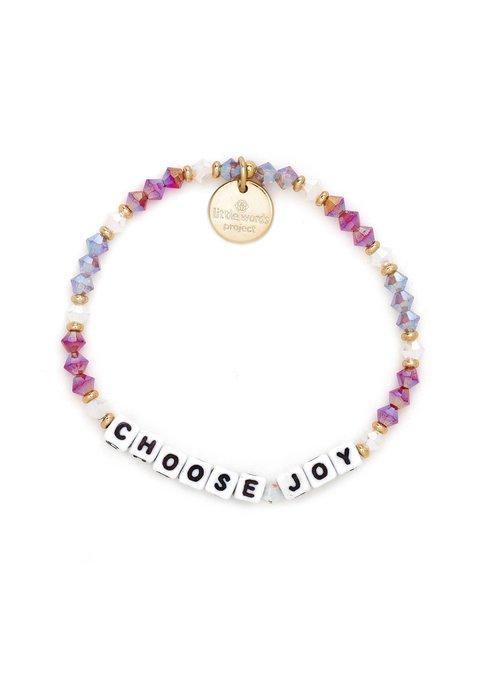 """Little Words Project """"Choose Joy"""" Bracelet"""