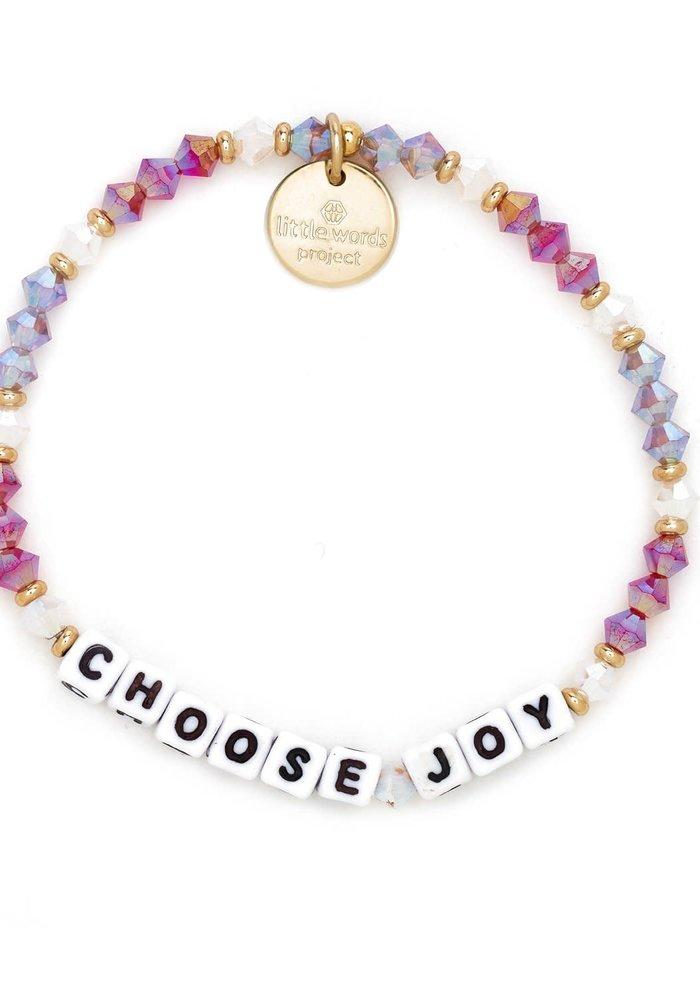"""Choose Joy"" Bracelet"