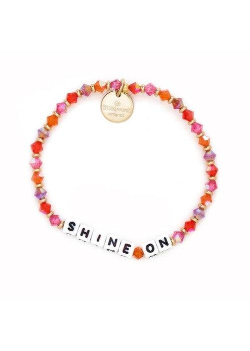 """Little Words Project """"Shine On"""" Bracelet"""