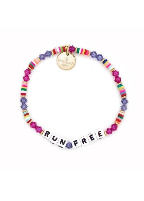 """Little Words Project """"Run Free"""" Bracelet"""