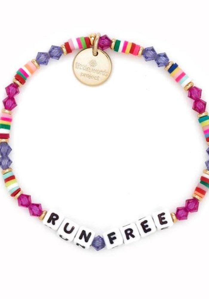 """Run Free"" Bracelet"