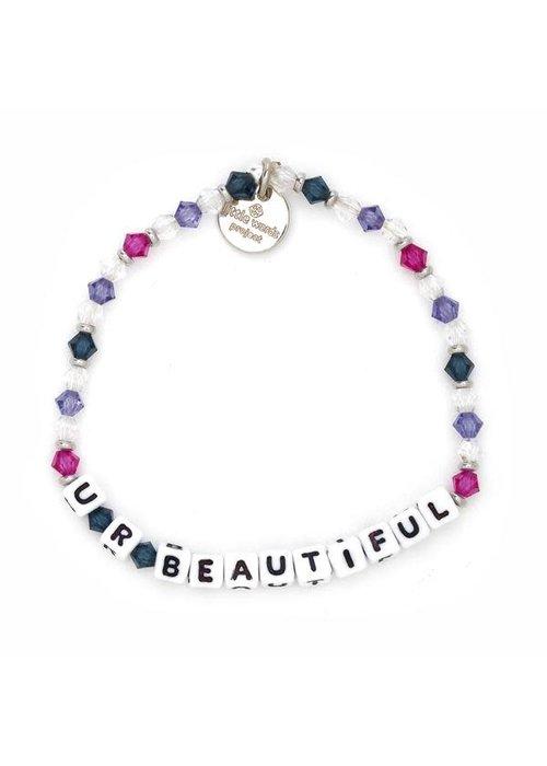 """Little Words Project """"U R Beautiful"""" Bracelet"""