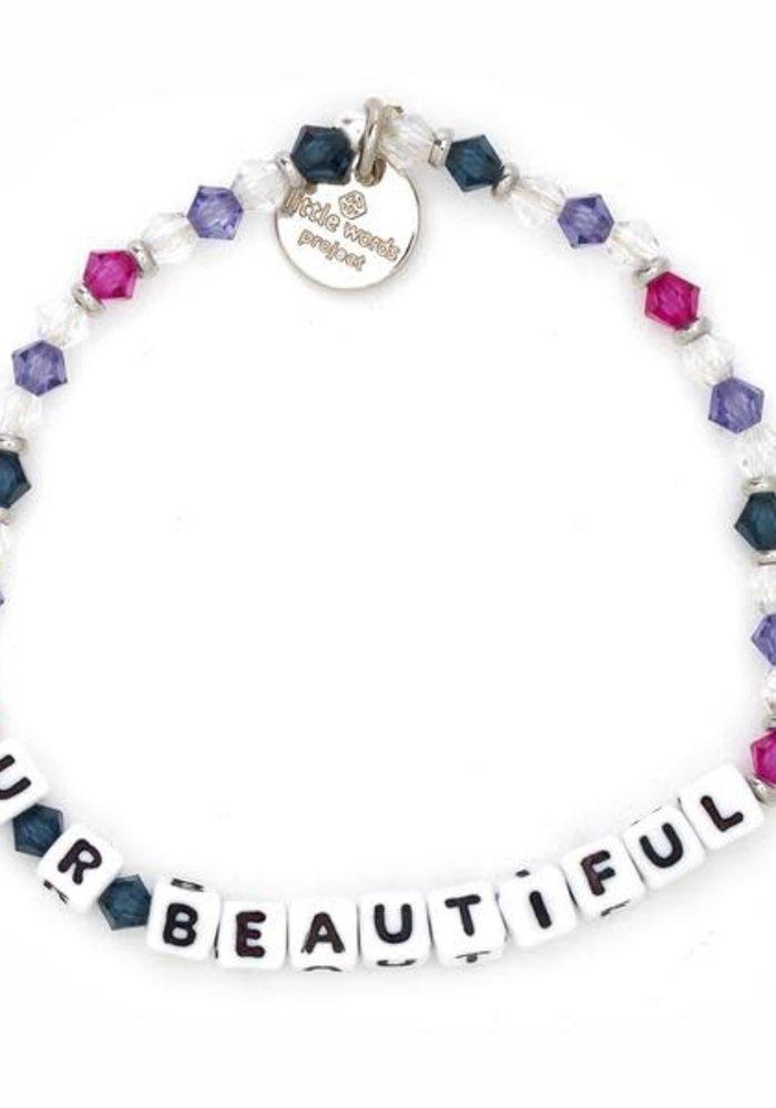 """""""U R Beautiful"""" Bracelet"""