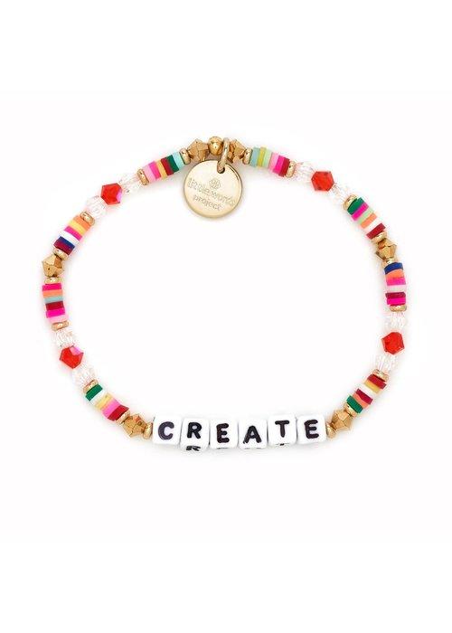 """Little Words Project """"Create"""" Bracelet"""