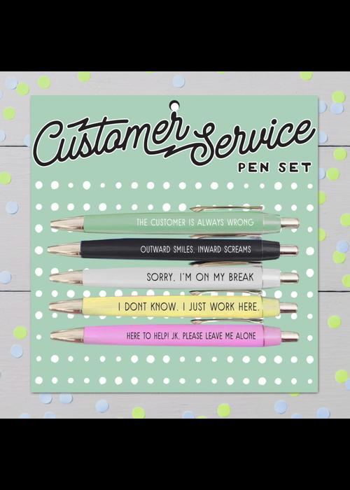 Customer Service Funny Pen Set
