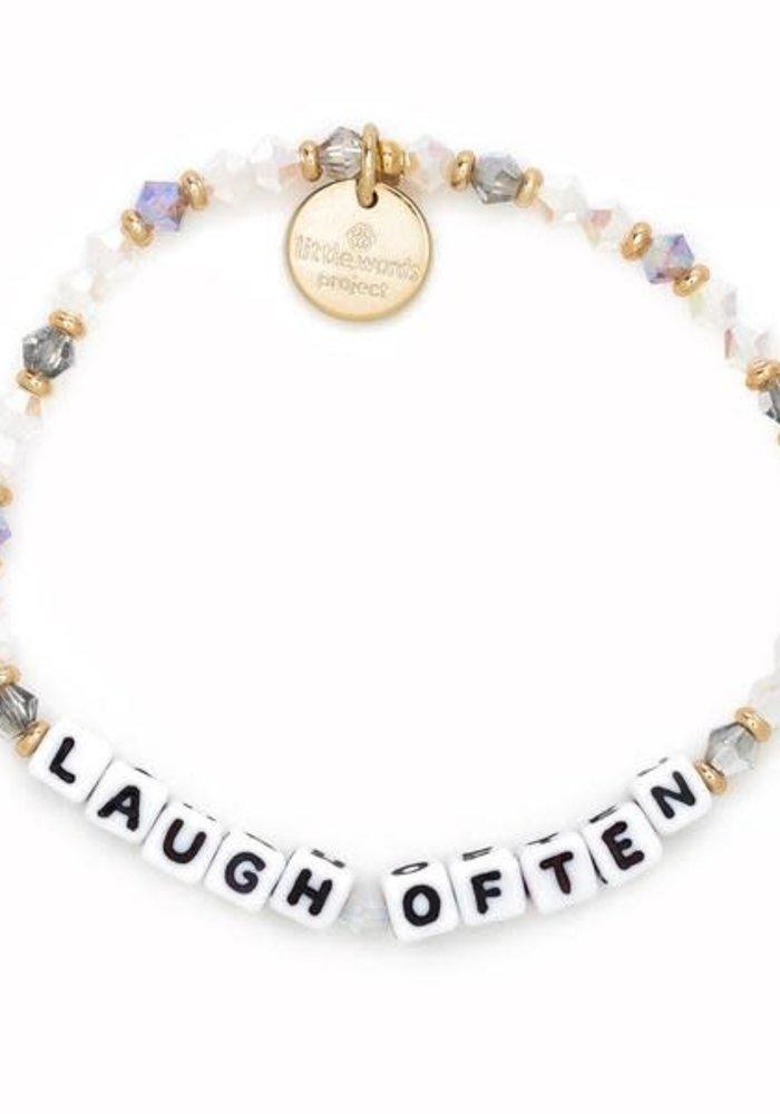 """""""Laugh Often"""" Bracelet"""