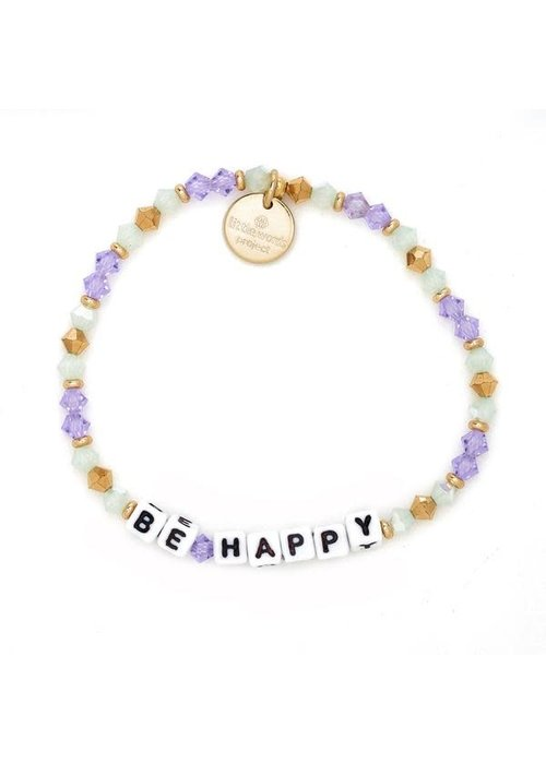 """Little Words Project """"Be Happy"""" Bracelet"""