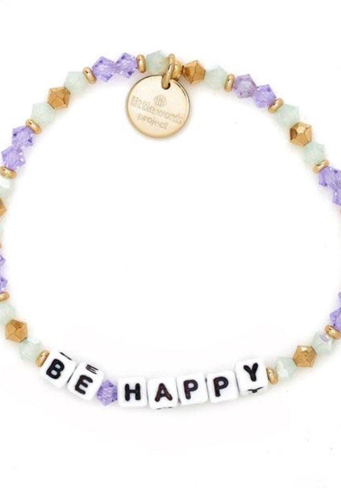 """""""Be Happy"""" Bracelet"""