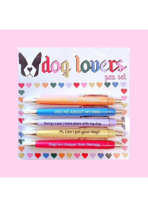 Dog Lovers Pen Set