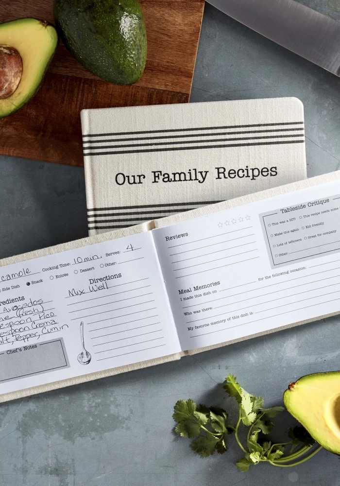 """Our Family Recipes"" Memories Book"