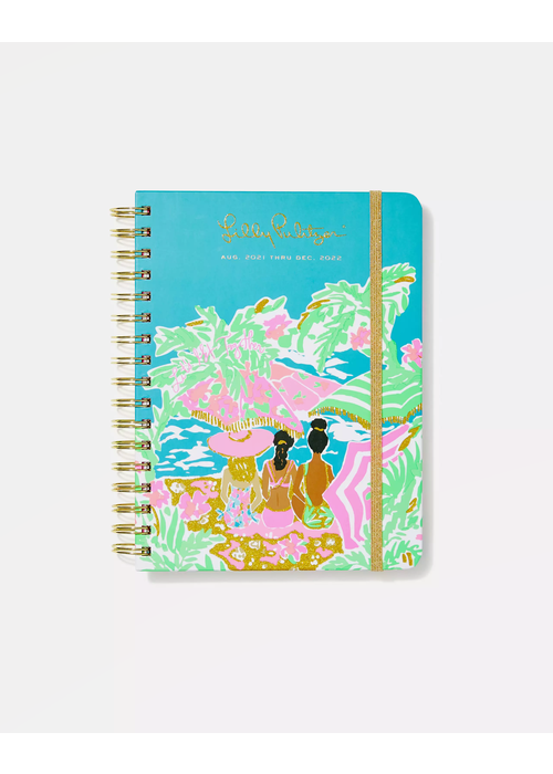 """Lilly Pulitzer """"Let's Get Together"""" Lilly Pulitzer Large 17-Month Agenda"""