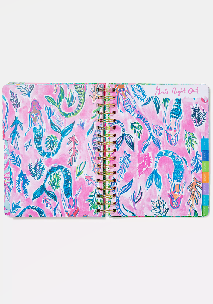 """""""Suite Views"""" Lilly Pulitzer Large 17-Month Agenda"""