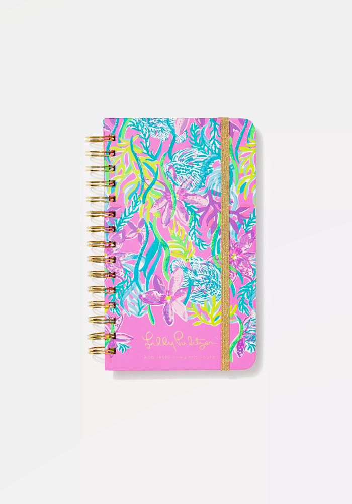 """""""Party All the Tide"""" Lilly Pulitzer Medium 17-Month Agenda"""