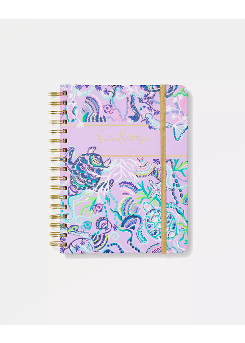 """Lilly Pulitzer """"Mermaid For You"""" Lilly Pulitzer Large 17-Month Agenda"""