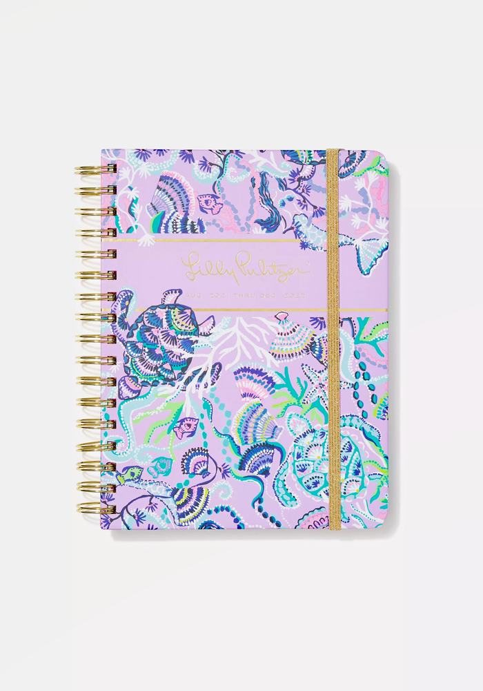"""""""Mermaid For You"""" Lilly Pulitzer Large 17-Month Agenda"""