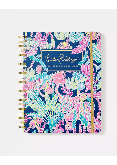 """Lilly Pulitzer """"Seen & Herd"""" Lilly Pulitzer Jumbo 17-Month Agenda"""