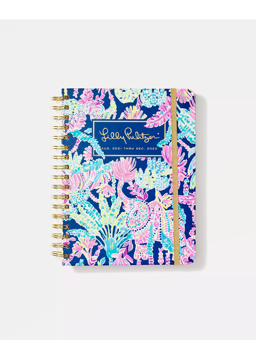 """Lilly Pulitzer """"Seen & Herd"""" Lilly Pulitzer Large 17-Month Agenda"""