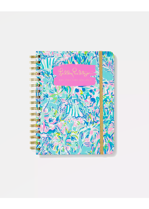 """Lilly Pulitzer """"Cabana Cocktail"""" Lilly Pulitzer Large 17-Month Agenda"""