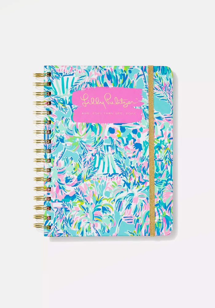 """""""Cabana Cocktail"""" Lilly Pulitzer Large 17-Month Agenda"""