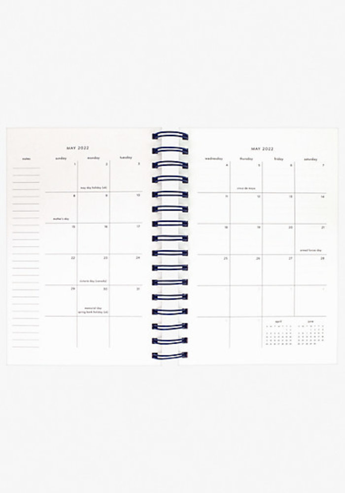 """""""Candy Stripe"""" Kate Spade Large 17-Month Planner"""