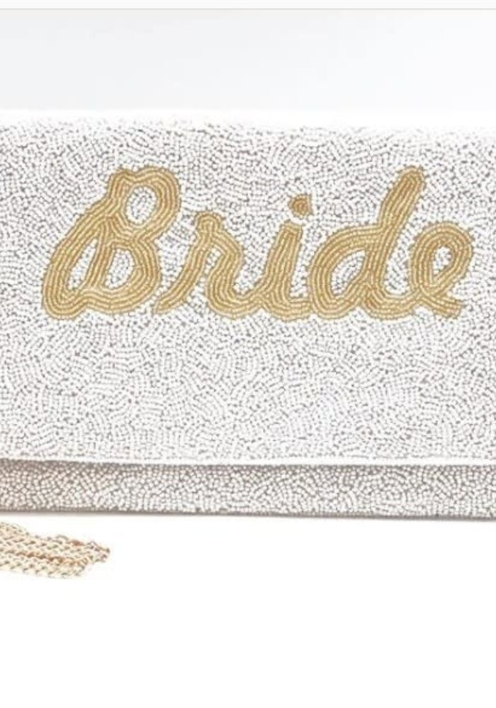"""""""Bride"""" Beaded Convertible Crossbody"""