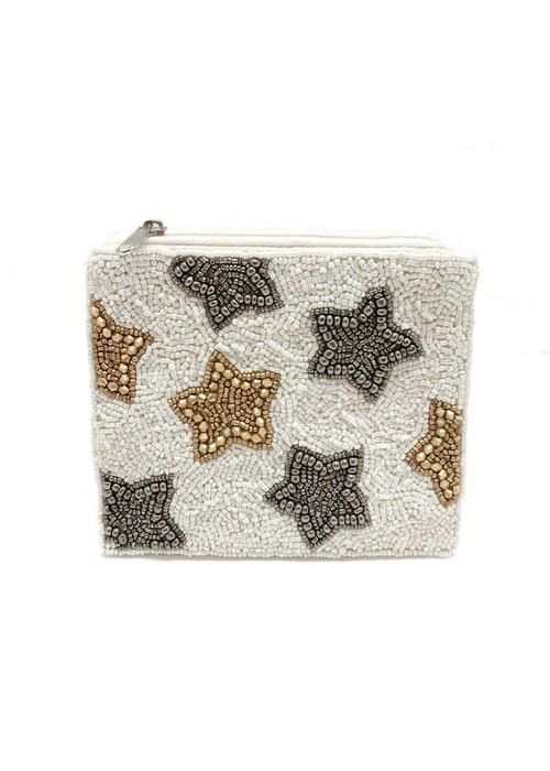 Beaded Star Pouch