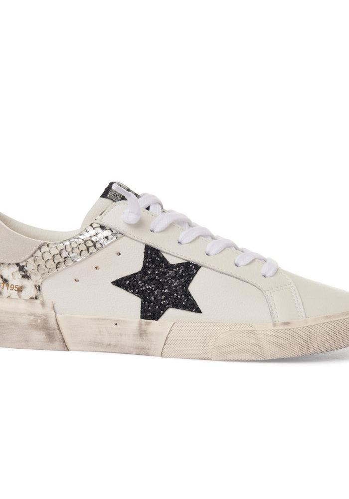 The Peggy Snakeskin Sneaker