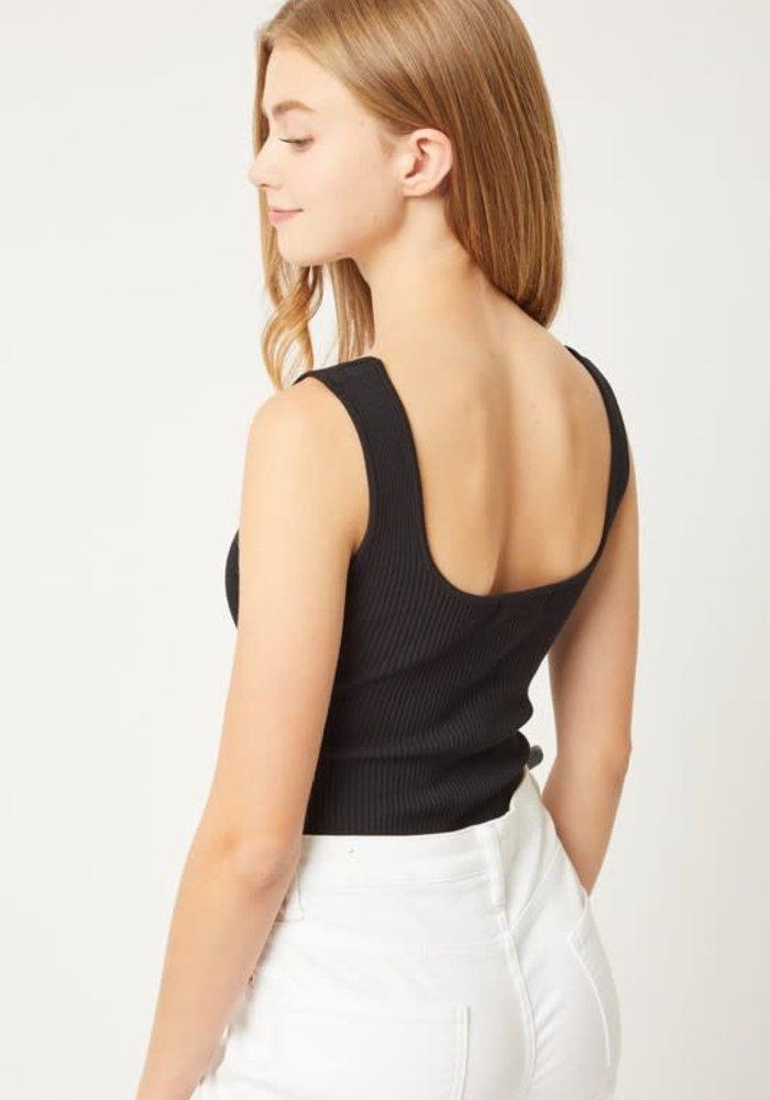 Seamless Ribbed Bodysuit