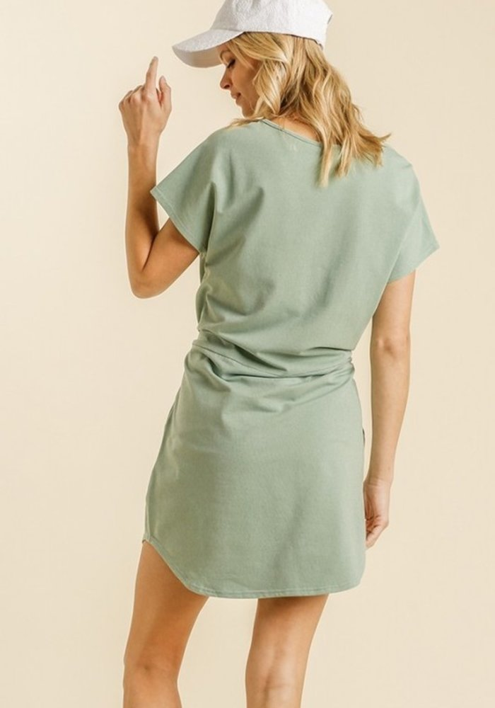 Pocket Sweatshirt Dress