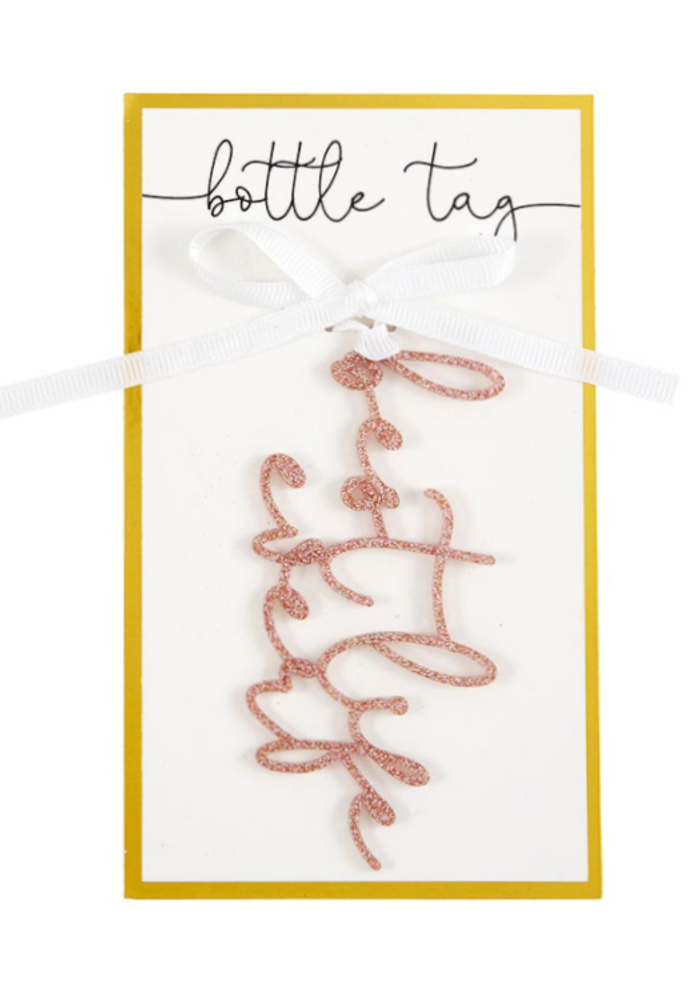 """""""Best Life Ever"""" Acrylic Bottle/Gift Tag"""
