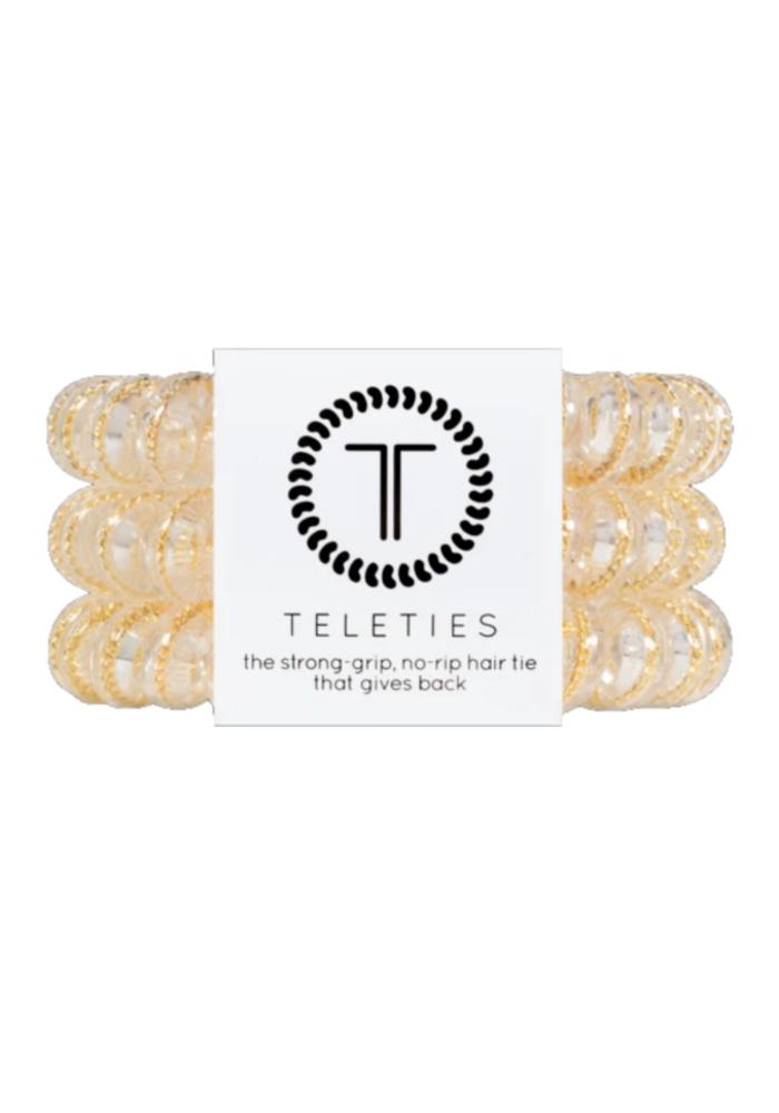 """Counting Karats"" Glitter Teleties"