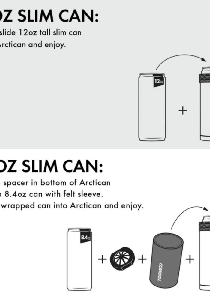 Corkcicle Slim Arctican Can Cooler