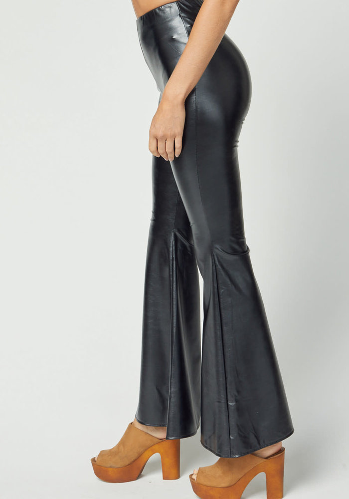 Leather Bell Bottoms