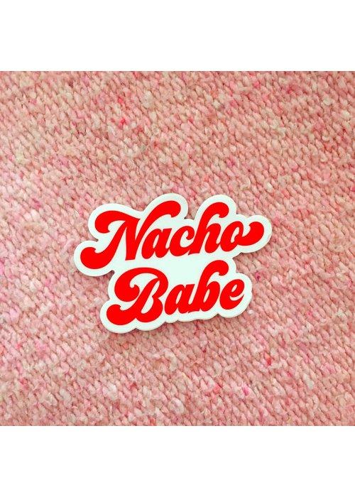 """""""Nacho Babe"""" Vinyl Sticker"""