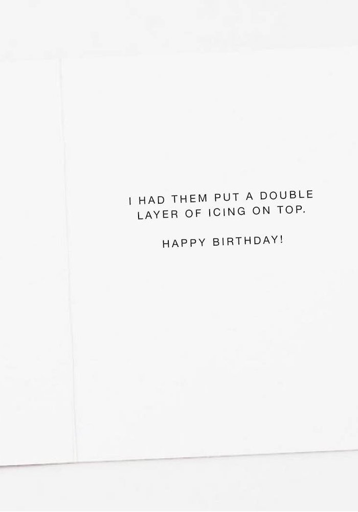 Funny Vegan Birthday Card
