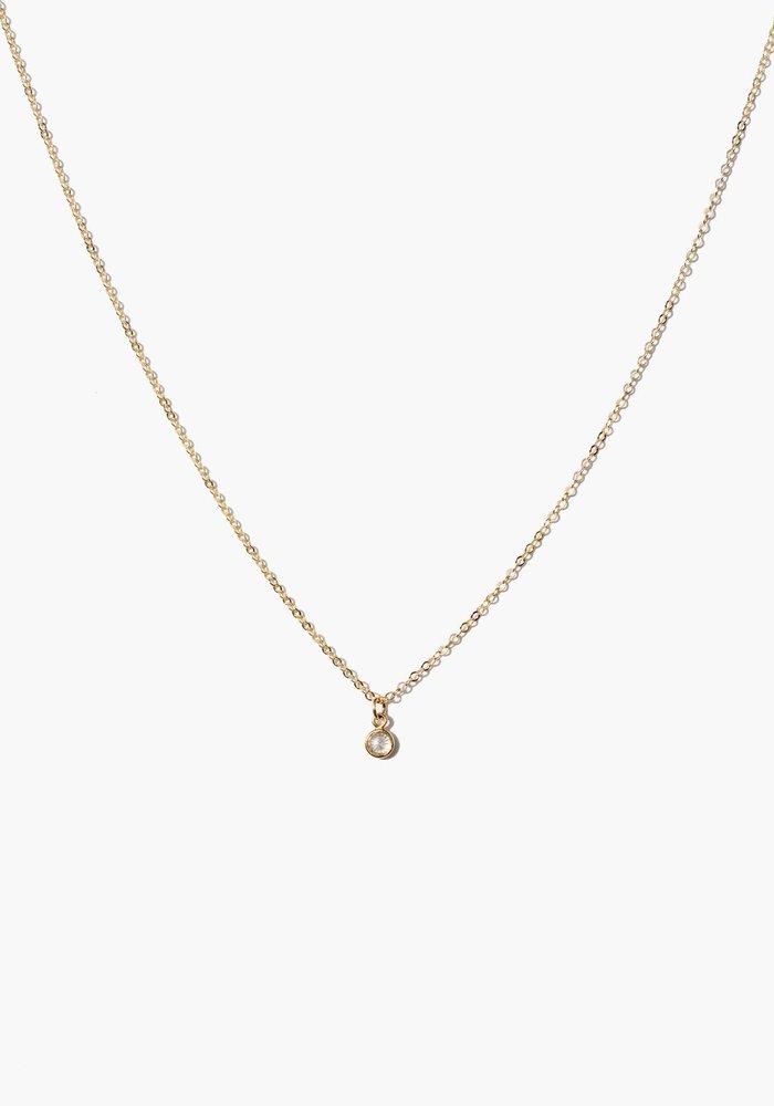 Stella Dainty Drop Necklace