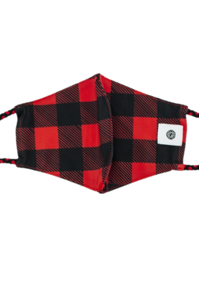 Buffalo Check Breathable Swimsuit Material Mask