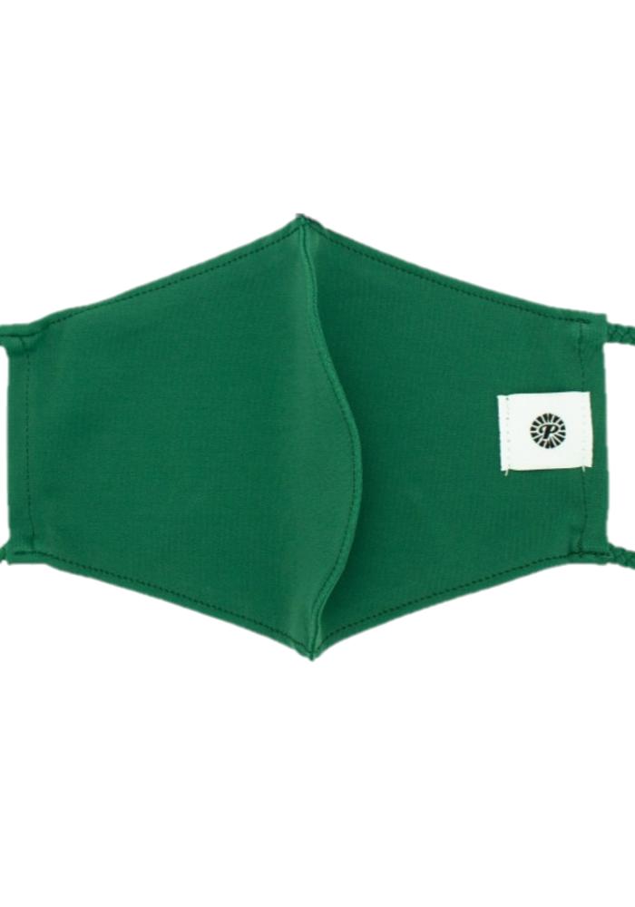 """Bottle Green"" Breathable Swimsuit Material Mask"
