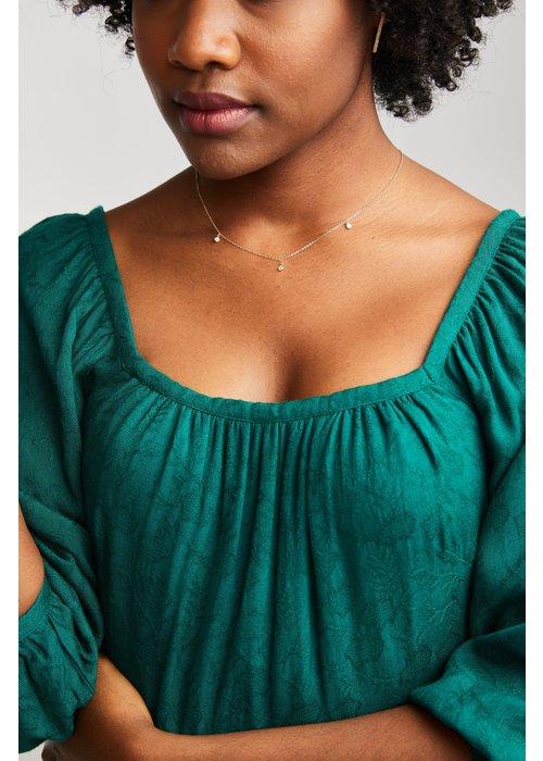 ABLE Triple Stella Drop Necklace