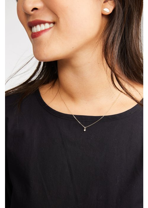 ABLE Stella Dainty Drop Necklace