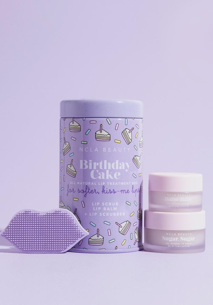 Birthday Cake Balm Babe Lip Care Trio Set